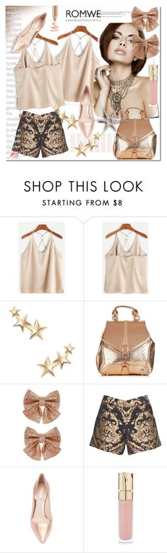 """""""Romwe"""" by ilona-828 ❤ liked on Polyvore featuring Kenneth Jay Lane, Monsoon, Alice + Olivia, Nicholas Kirkwood, Smith & Cult, StreetStyle, Summer, romwe and polyvoreeditorial"""