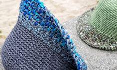"""""""창늘리기가 사라졌다""""...벙거지모자/여름밀짚모자/쉬운모자뜨기 : 네이버 블로그 Blanket, Crochet, Hats, Fashion, Hat, Moda, Fashion Styles, Ganchillo, Blankets"""
