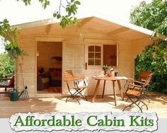 At living green and frugally we aim to provide you with lots of great tips and advice on 6 Free Plans - Tiny Houses/Cabins/Shed working Offices