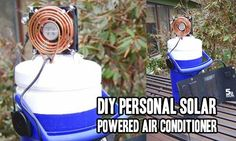 DIY Personal Solar Powered Air Conditioner