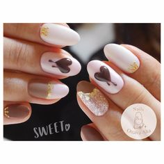 いいね!150件、コメント1件 ― 麻布十番 オッターヴァ・アルタさん(@nails_8va)のInstagramアカウント: 「チョコハート. お問合せはプロフィール欄より専用ページへお願い致します。 #ignails #nail #nails #nailart #nailaddict #naildesign…」