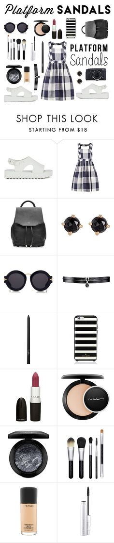 """PLATFORM SANDALS👡👠"" by masa005 ❤ liked on Polyvore featuring Melissa, Louche, rag & bone, Fujifilm, Irene Neuwirth, Karen Walker, Fallon, NARS Cosmetics, Kate Spade and M.A.C"