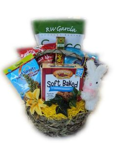 College Student Healthy Easter Basket Well Baskets, http://www.amazon.com/gp/product/B00147JR16?ie=UTF8&camp=1789&creativeASIN=B00147JR16&linkCode=xm2&tag=myswecit-20