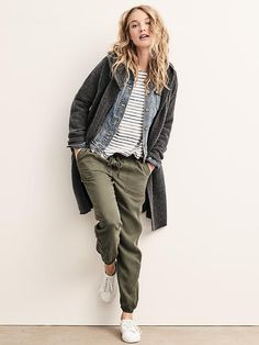 Linen henley | Gap … | Fashion | Pinterest | Henleys, Linens and ...