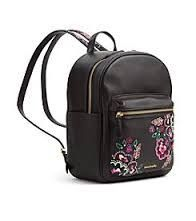 Leighton Backpack by Vera Bradley Real Leather