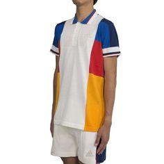7a6d15e172bc Adidas Tennis x Pharrell Williams NY Colorblock Polo LTD (White)