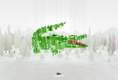 print and TV campaign for lacoste christmas 2013