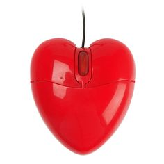 Red Heart Mouse- OK. :)