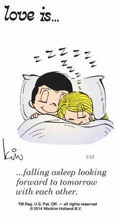 Ik geniet zo van ons samen zijn. Slaap lekker liefie. ♡X
