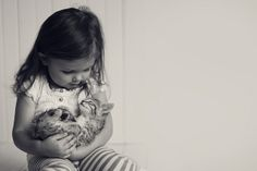 India and her little kitten - millylillyrose@Flickr