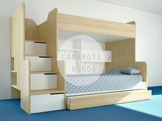 dormitorio niños camarote carpinteria ingenio