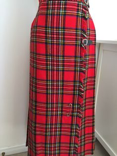 A personal favorite from my Etsy shop https://www.etsy.com/ca/listing/499603667/vintage-60s-plaid-maxi-skirt-tartan-red