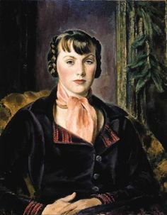 Eugene Speicher - The Plum Colored Jacket