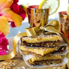 Gluten Free Lemon & Coconut Slices