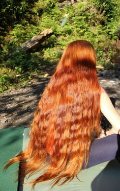 Long, Red, Hair! 3 words that go very well together!!  TAB § Alina Khomchenko