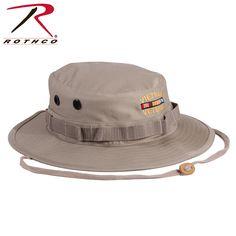 Rothco Vietnam Veteran Boonie Hat in Khaki Military Clothing 282358fd026c