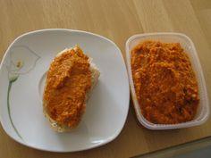 Pizzabutter superleckerer Brotaufstrich  (auch was für Vegetarier)      Rezept des Tages 19.03.2012