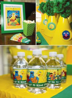 Creative Sesame Street Inspired Birthday Party