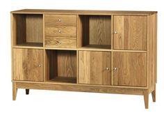 Fyn skjenk Møbelringen 13K Credenza, Buffet, Cabinet, Living Room, Storage, Furniture, Home Decor, The Creation, Wood
