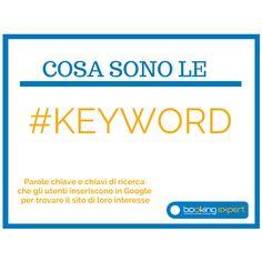 Ottimizzazione #seo del sito internet: cosa sono le #keyword?