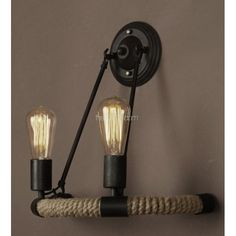 Светильник настенный Light Rope