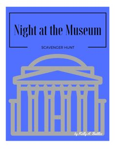 Night at the Museum Scavenger Hunt from Putting Pen to Paper on TeachersNotebook.com -  - Make learning fun! Take a field trip to Washington DC after watching Night at the Museum: Battle of the Smithsonian.