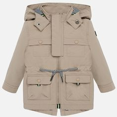 Kurtka przejściowa dla Baby boy Mayoral Parka, Military Jacket, Babe, Jackets, Fashion, Down Jackets, Moda, Field Jacket, Fashion Styles