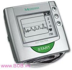 Máy đo huyết áp cổ tay Medisana  Cung cấp bởi website: http://bob.vn/thiet-bi-y-te/may-do-huyet-ap/