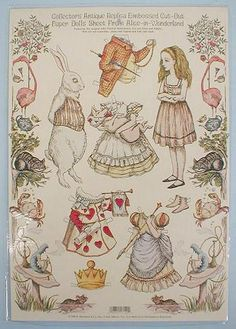 Alice in Wonderland paper doll (1 of 1)