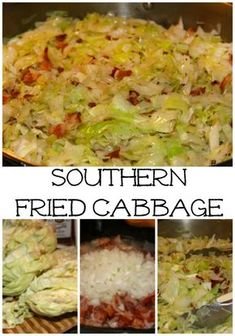This sauteed cabbage recipe with onions & bacon is the perfect accompaniment to your lucky New Years Black Eyed Peas & Cornbread! So simple to make, you will add this to your go-to side dishes all year long! Makes servings: * 1 large head of cabbage, Fried Cabbage Recipes, Bacon Fried Cabbage, Sauteed Cabbage, Onion Recipes, Vegetable Recipes, Cabbage And Onions Recipe, Shredded Cabbage Recipes, Lima Bean Recipes, Cabbage Side Dish