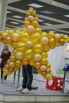 For Balloon Decoration Contact Stonecore Events Hanging Balloons, Balloon Backdrop, Balloon Columns, Helium Balloons, Balloon Crafts, Balloon Decorations, Birthday Party Decorations, Deco Ballon, Moon Balloon