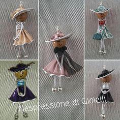 Broches de muñecas