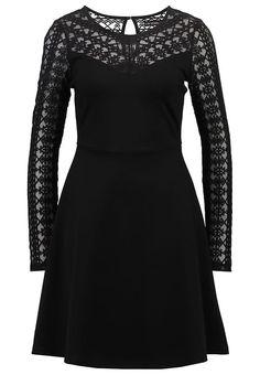Even&Odd Vestido ligero - black - Zalando.es