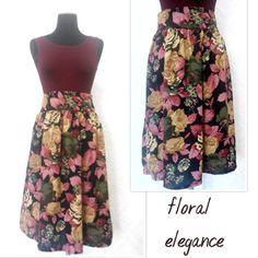 Floral elegant Skirt
