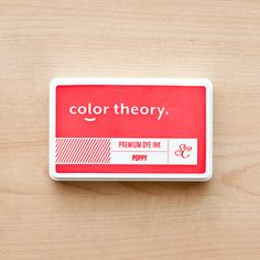 Picture of Color Theory Ink Pad - Poppy