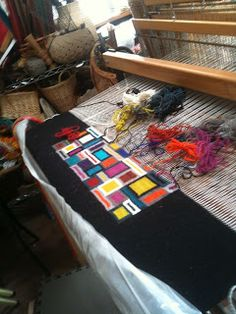 Tapestry Artist Donna Loraine Contractor, Weaver of Fine Art Contemporary Tapestries