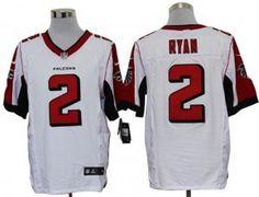 Mens Atlanta Falcons Matt Ryan Nike White Elite Jersey