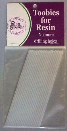 Haat het als je de perfecte hars casting alleen om boren het verkeerd? AARGH! Voer hars obsessie Toobies aan de redding. Deze toobies insluiten in