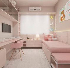 33 tolle College-Schlafzimmer Dekor-Ideen und umgestalten 33 awesome college bedroom decor ideas and remodel Cute Bedroom Ideas, Cute Room Decor, Awesome Bedrooms, Small Bedroom Ideas For Girls, Small Teen Room, Pretty Bedroom, Small Apartment Bedrooms, Small Room Bedroom, Modern Bedroom