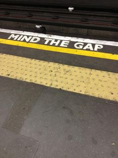 The gap is space between your customer or clients best experience and worst experience.   #GBSMM Mind the gap via @modernistms
