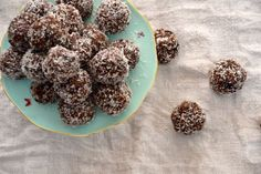 Paleo Rum Balls with real Rum! They are otherwise: gluten free    dairy free    sugar free    soy free    egg free    paleo    vegan    vegetarian