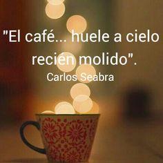 Hoy mi café huele a cielo! Feliz domingo! @SOFIAZUPKUS