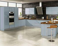 22 Fotos de cozinhas para quem adora azul ~ Decoração e Ideias - casa e jardim