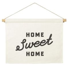 Hang this sweet and simple banner in your living room, dining room, bedroom or anywhere else in your home, just in case yokku ever forget where you are.