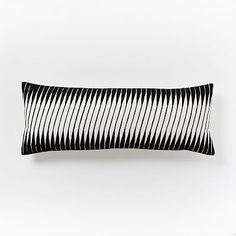 Linear Wave Pillow Cover #westelm