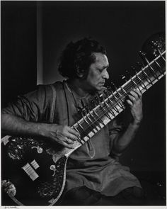 Ravi Shankar: Famous sitar player, and the one who taught George Harrison. Famous daughter? Norah Jones!
