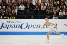 Mao Asada (JPN), OCTOBER 6, 2012 - Figure Skating : .Mao Asada of Japan performs during Japan Open 2012 at Saitama Super Arena, Saitama, Japan. .(Photo by Yusuke Nakanishi/AFLO SPORT) [1090] .