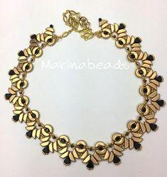 TUTORIAL Petra Necklace with Tinos beads