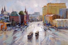 "Alexey Shalaev. Revolution Square, a series of "" Warm air from the roof""."