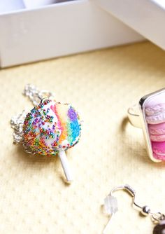 Bakery Charms Jewelry Review + A GIVEAWAY! • CakeJournal.com
